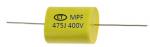 condensador de película de polipropileno metalizado
