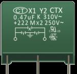 X1+Y2 Capacitors