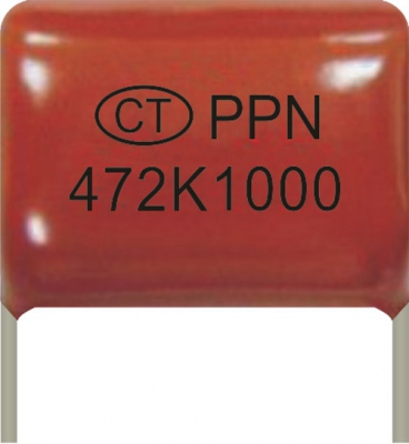 Polypropylene Film Foil Capacitor(Coating)