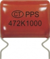 Polypropylene Film Foil Capacitor(High Voltage)