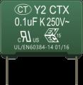 Y2 250VAC safety capacitor